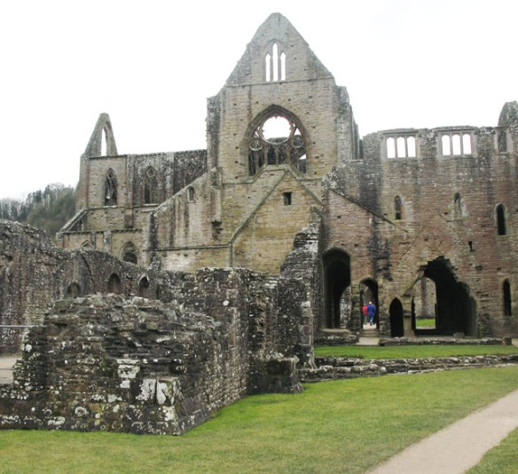 Tintern Abbey 5 Haunted Buildings in Wales