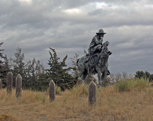 Boot Hill Cemetary Ogallala Prairie
