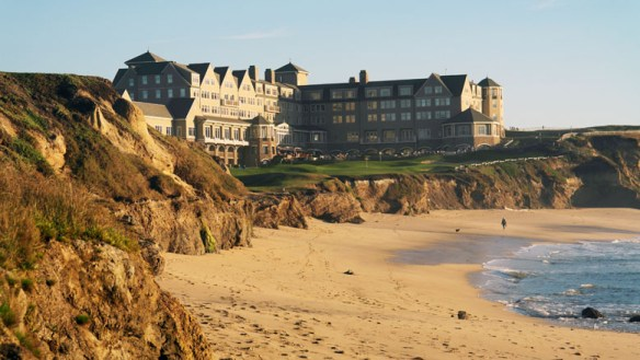 Often called the Castle by the Sea, the magnificent Ritz Carlton Half Moon Bay hangs over the cliffs with almost every room enjoying spectacular sea views.