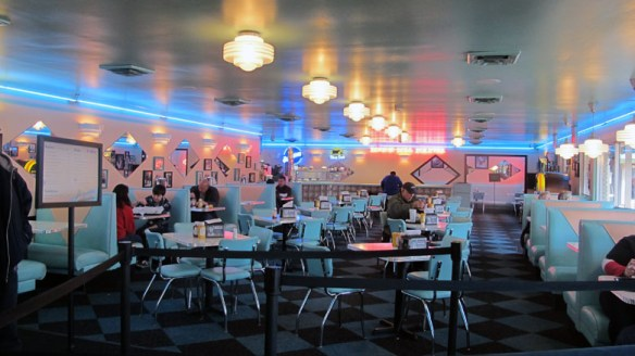 Rockabilly Diner Memphis decor Diner