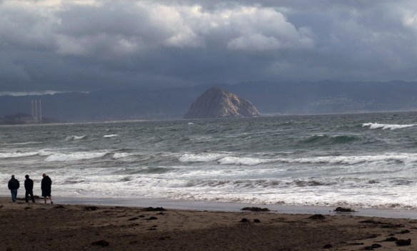 Morro Rock from Cayucos