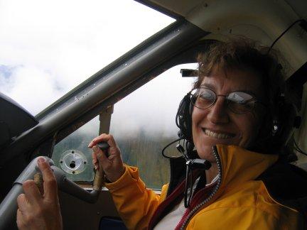 co-pilot Liz Alaska