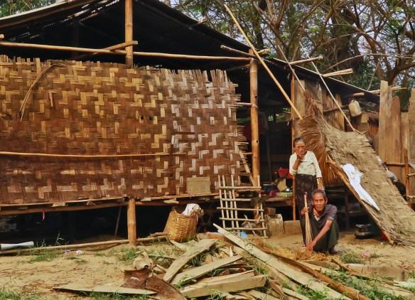 elderly village people Amawaterways Cruise Myanmar