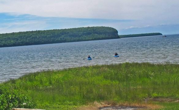 Door County Fish Boil kayaks