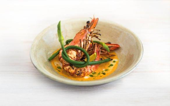 King prawn curry at Candlenut in Singapore-Dining capital of Asia