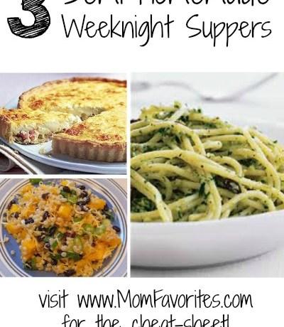 Semi-Homemade Suppers, www.momfavorites.com