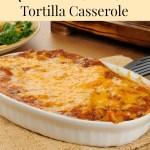 Meatless Dining – Mushroom and Black Bean Tortilla Casserole
