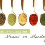 Menus on Mondays, 9/24/12