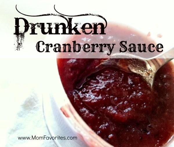 drunken cranberry sauce