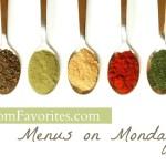 Menus on Mondays: 11/19/12