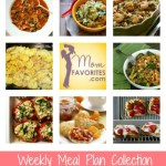 Weekly Menu Plan: Early Spring Healthy Dinners and Treats