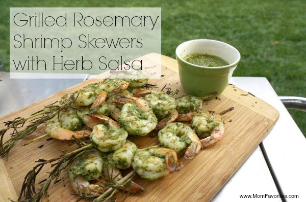 grilled rosemary shrimp
