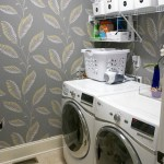 Utilitarian but Pretty: The Laundry Room and Powder Room Makeover, #ThisNewHouse