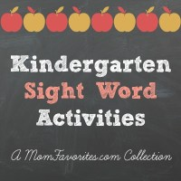 Mom Favorites Collection: Kindergarten Sight Word Activities