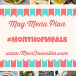 May Menu Plan #MonthofMeals
