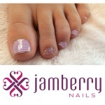 {WIN} Jamberry Nails Wraps Mommy-Daughter Pedicure