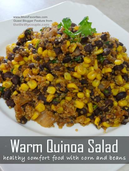 Warm Quinoa Salad, www.MomFavorites.com