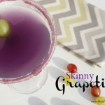 For the Girls: Skinny Grapetini Cocktail