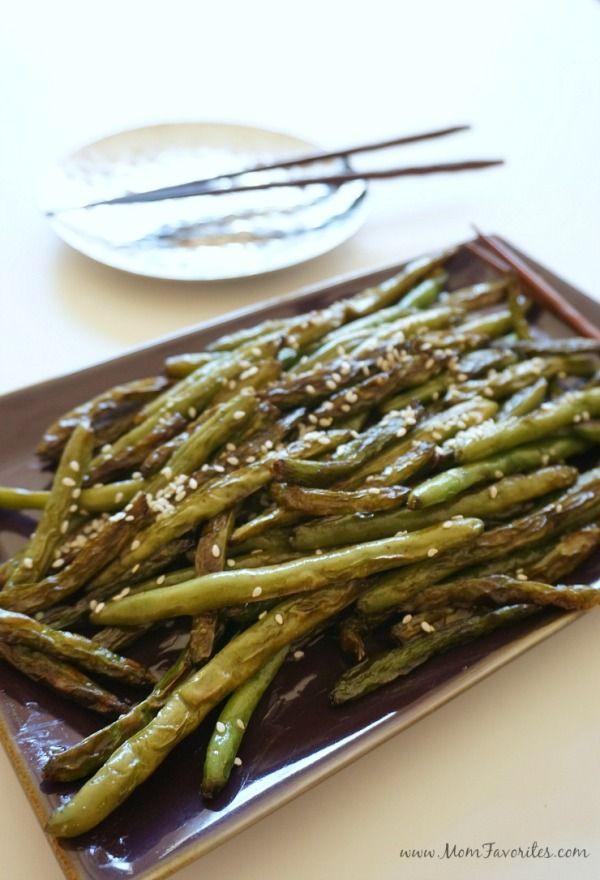 Sesame Soy Green Beans, from the Month of Meals Menu collection: www.MomFavorites.com