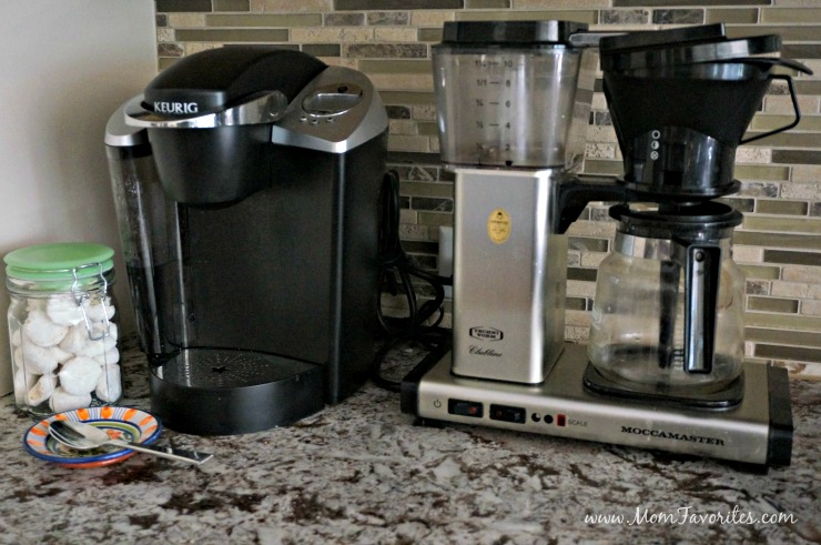 Busy mornings and holiday entertaining made easy with the ultimate DIY coffee station loaded with Gevalia Kaffe treats!