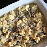 Easy Pre-Holiday Dinner Menu: Tortellini Bake and Skillet Cookie Recipes