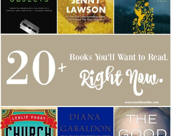 Looking for a new book club read? Here are my top books read from 2015. Start with the Outlander series if you haven't yet, and share your other additions!