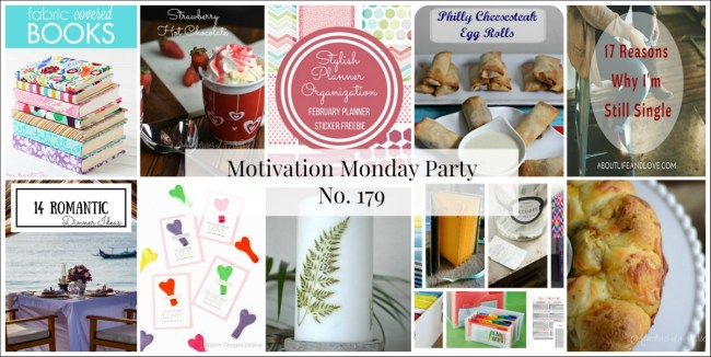Motivation Monday Linky Party 179