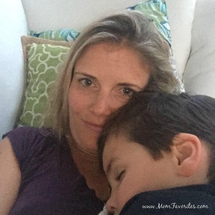 Ever wonder what a day as a work-at-home mom looks like? It's crazy and wonderful. And filled with occasional treats!