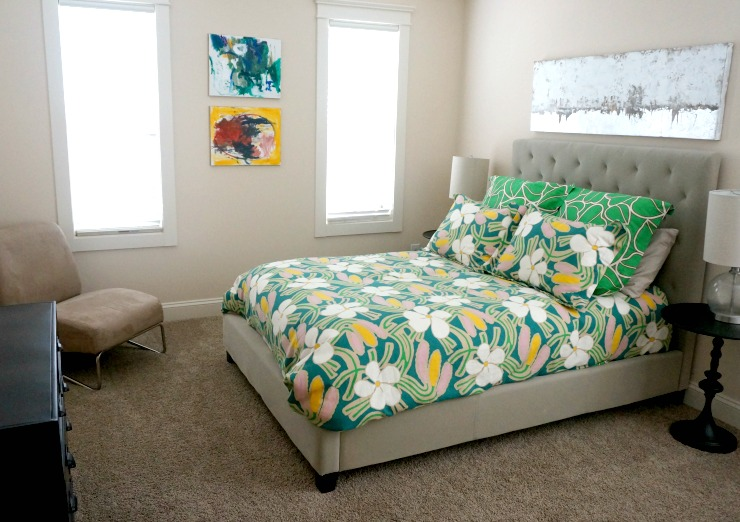 Impress your guests with this quick guest bedroom makeover on a budget. Just be ready for some extended stays!