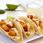 Easy Bang Bang Style Shrimp Tacos