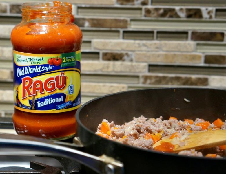 One Pot Pasta with Sausage & Basil