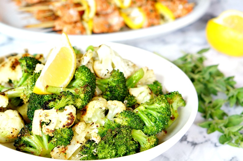 Use this recipe for perfectly-charred vegetables every night of the week. This Roasted Veggies with Lemon recipe is super flexible, easy to make, and is a family favorite!