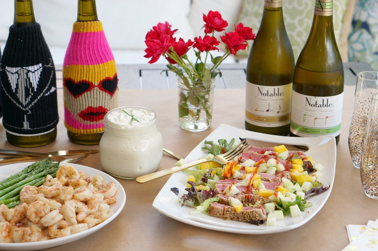 Want to host an easy and elegant summer wine party? Be sure to check out this wine party tutorial complete with food pairings and a party game for an evening of delicious revery.