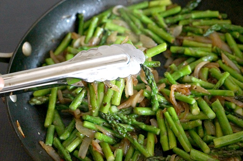 Need a recipe that goes with the flow? Be sure to add this easy asparagus sauté to your recipe box. Great as is, but you'll love this method of cooking for all of your favorite veggies.