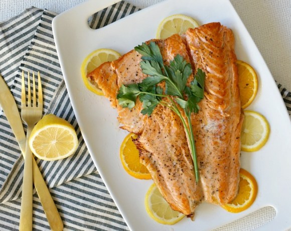 Our Citrus Butter Salmon is both simple and elegant, perfect for holiday entertaining or everyday dining. Loaded with Vitamin D, it's a great recipe to include for a healthier option during the decadent season.