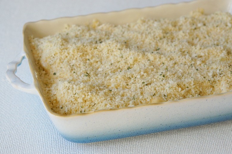 This Extra Creamy Four Cheese Macaroni is THE macaroni and cheese casserole you need on your holiday table! Loaded with cheeses, cream, and a panko crust it's worth every oooey-gooey bite!