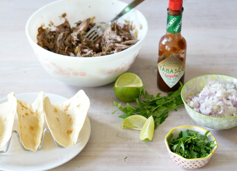 Our Slow Cooker Beef Barbacoa recipe is so good... you'll never want tacos any other way! Make extra because the leftovers can be used in soups, casseroles, pasta dishes and more.