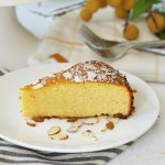 Pichuberry Cake with Almonds {Gluten-Free}