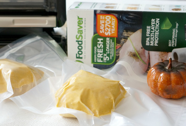 Homemade Pumpkin Pasta Dough. Freezer friendly and takes just five minutes to make.
