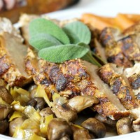 Slow Cooker Pork Loin with Fall Veggies