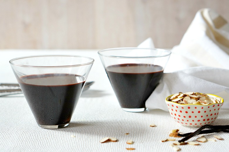 Our Dairy Free and Vegan Dark Chocolate Pots de Creme sound fancy, but really... it's just a fancy pants name for chocolate pudding. Rich, decadent, lick-the-bowl chocolate pudding.