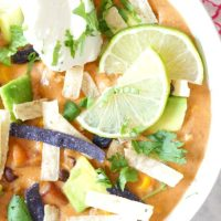 *Comfort Food Alert* Easy Cheesy Vegetarian Taco Soup