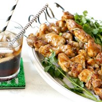 Coca-Cola® & Pineapple Glazed Chicken Skewers
