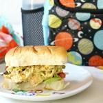 Lunchbox Pom Pom Chicken Salad Sandwich Recipe