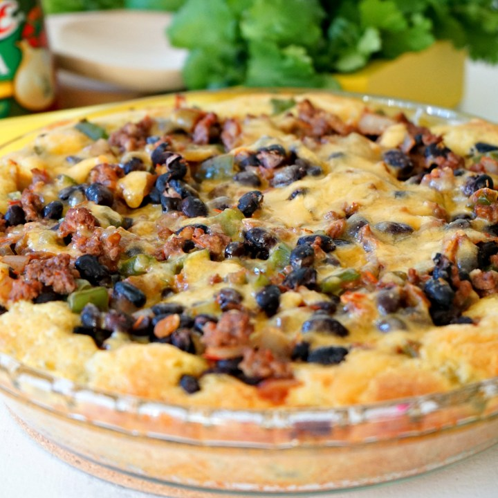 Easy Taco Tamale Pie Dinner