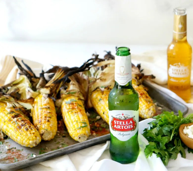 Sure, you've cooked brats in beer. But what about corn? You have to try this Beer Poached Grilled Corn recipe the next time you grill out this summer!