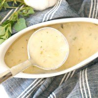 Classic Turkey Gravy Without Drippings - It's Possible