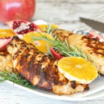 Maple Spiced Grilled Turkey Breast Recipe