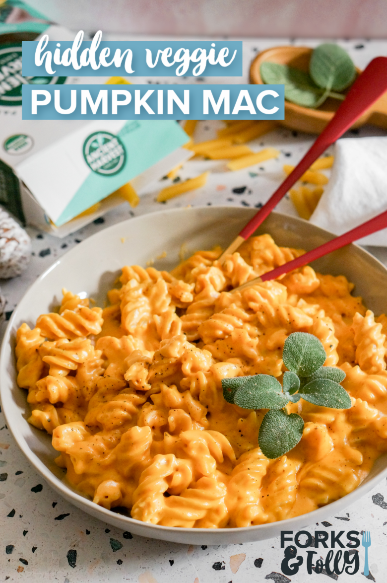 Pumpkin Mac & Cheese should be on everyone's comfort food bucket list. With the perfect combo of naughty and nice, this bowl of creamy, cheesy, and yes, veggie goodness is the perfect noodle dish for cold winter nights.