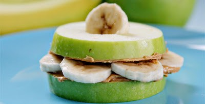 banana apple sammies